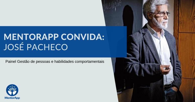 MentorApp convida José Pacheco para evento em Petrópolis